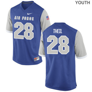 Youth  28 Game Royal Air Force Falcons Alumni Jersey | Grant Theil